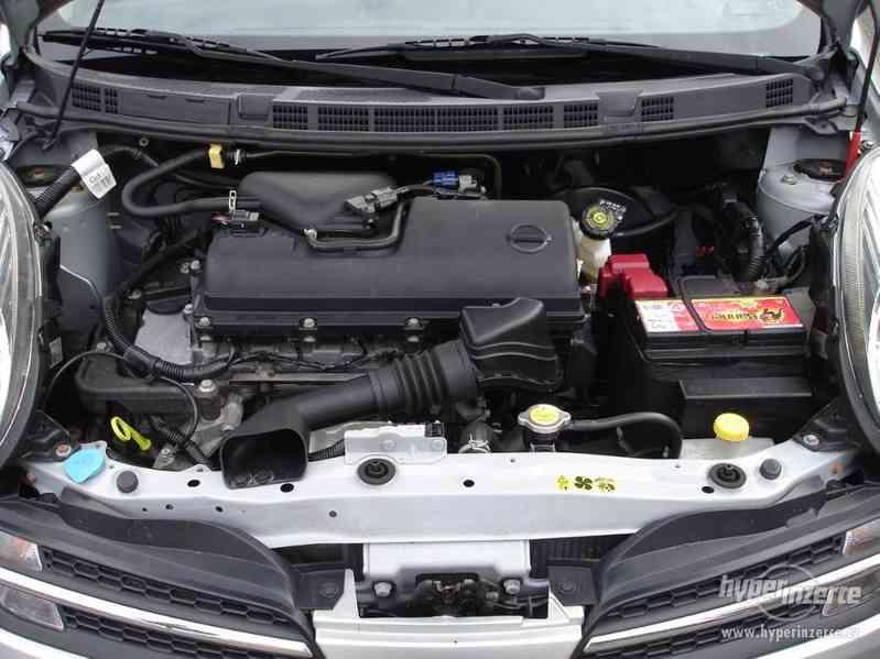 Nissan Micra 1.2-59 KW, Typ K12,Serv.kn.,Automatické svícení - foto 13