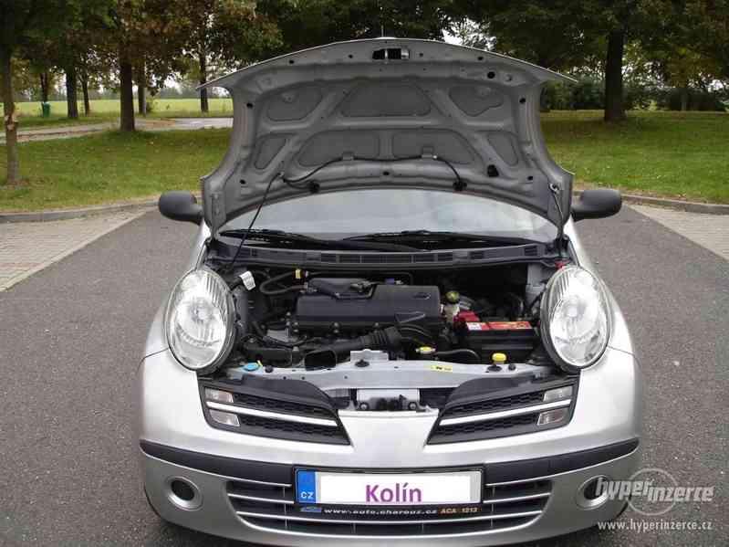 Nissan Micra 1.2-59 KW, Typ K12,Serv.kn.,Automatické svícení - foto 14