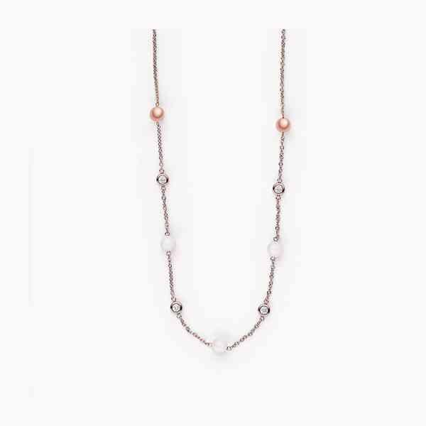 Skagen - Krátký náhrdelník z mořského skla Velikost: OS - foto 2