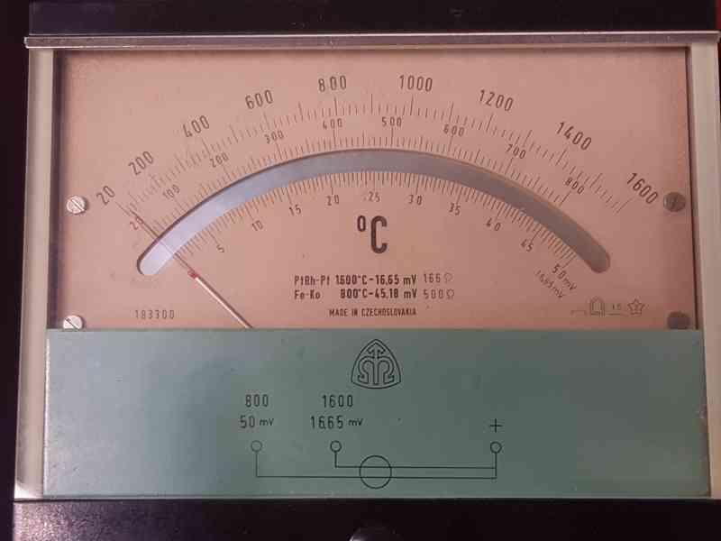 Měřák teploty ML10 - Metra Blansko - foto 2