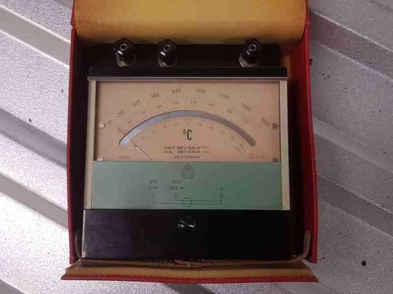 Měřák teploty ML10 - Metra Blansko - foto 3