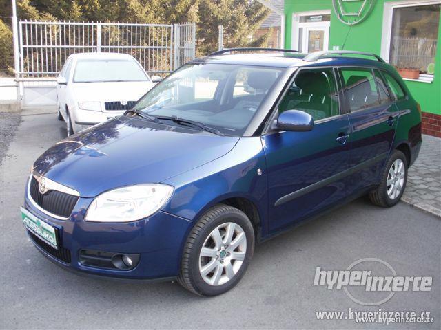 Prodej osobního vozu Škoda Fabia Combi II 1.9 TDI-PD 1.9, nafta, vyrobeno 2008