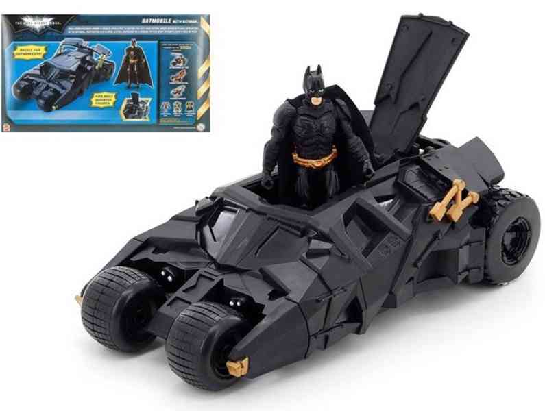 Figurka Batman s vozidlem Batmobil od Mattel