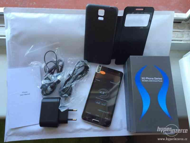 Nový luxusní W800 MINI S5 4,5 palcový MTK6582 Quad Core 1G