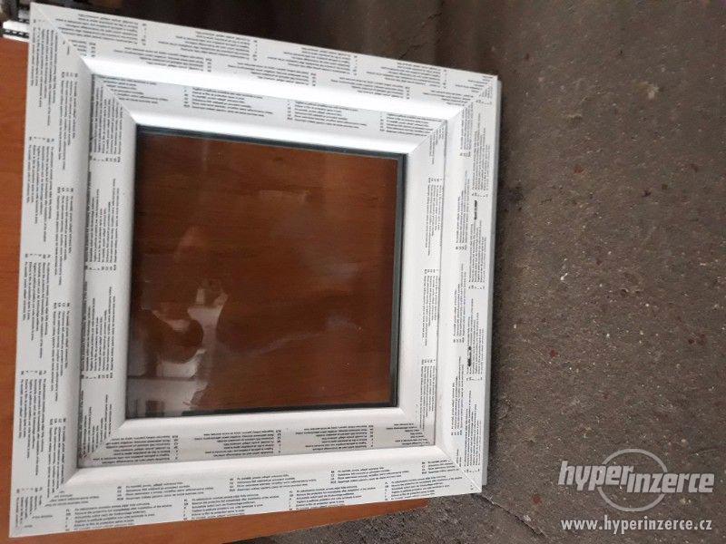 Nové plastové okno 60x60