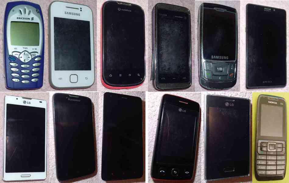 Nefunkční telefony k opravě nebo na ND -LEVNĚ!!! - foto 1