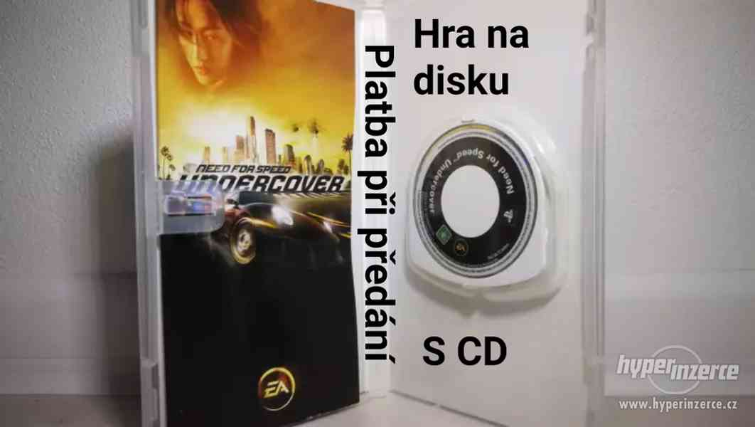 ● HRY ZA STOVKU ● NEED FOR SPEED UNDERCOVER ● HRY NA PSP
