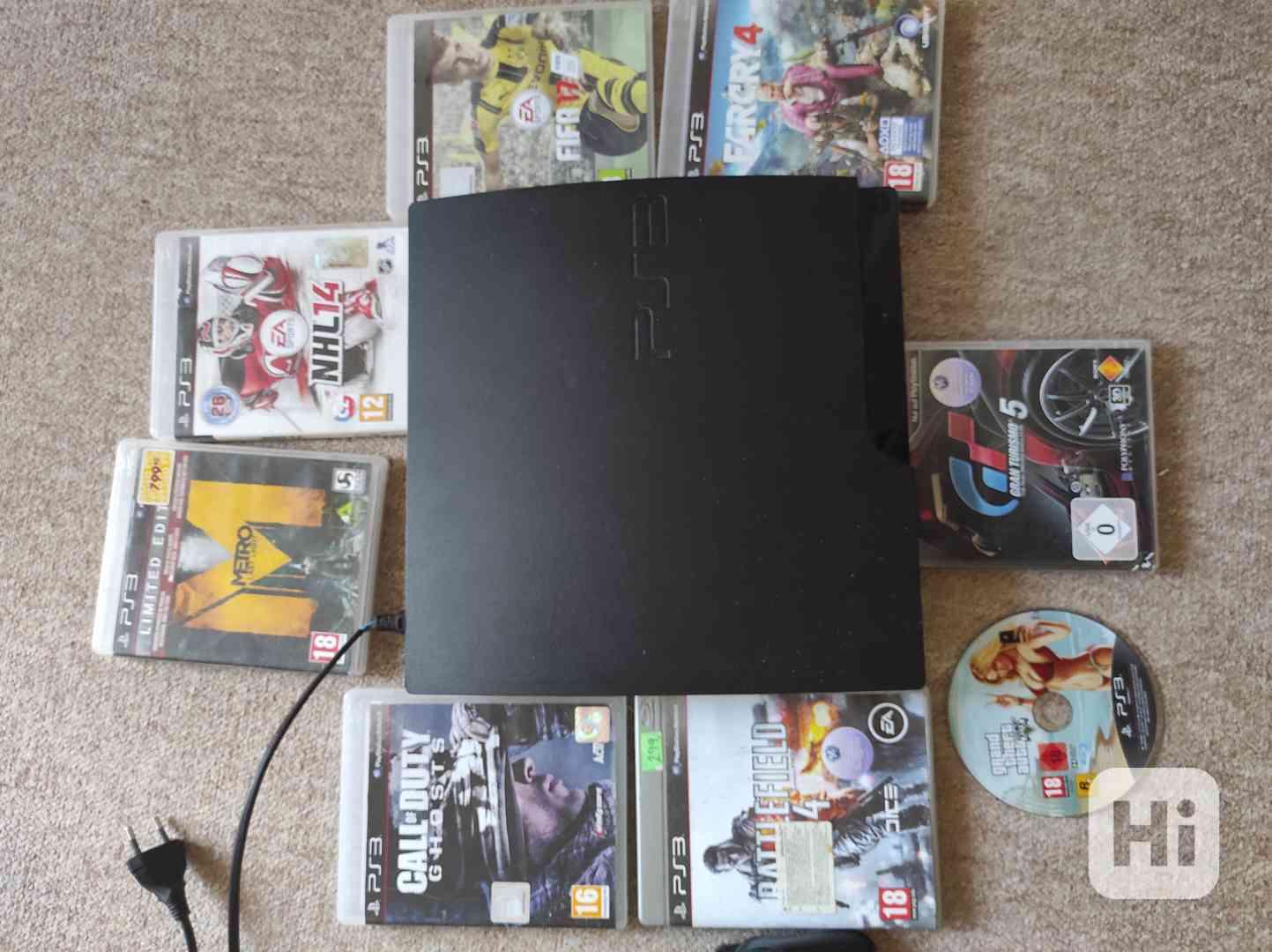 PlayStation 3 Slim 300gb - foto 1