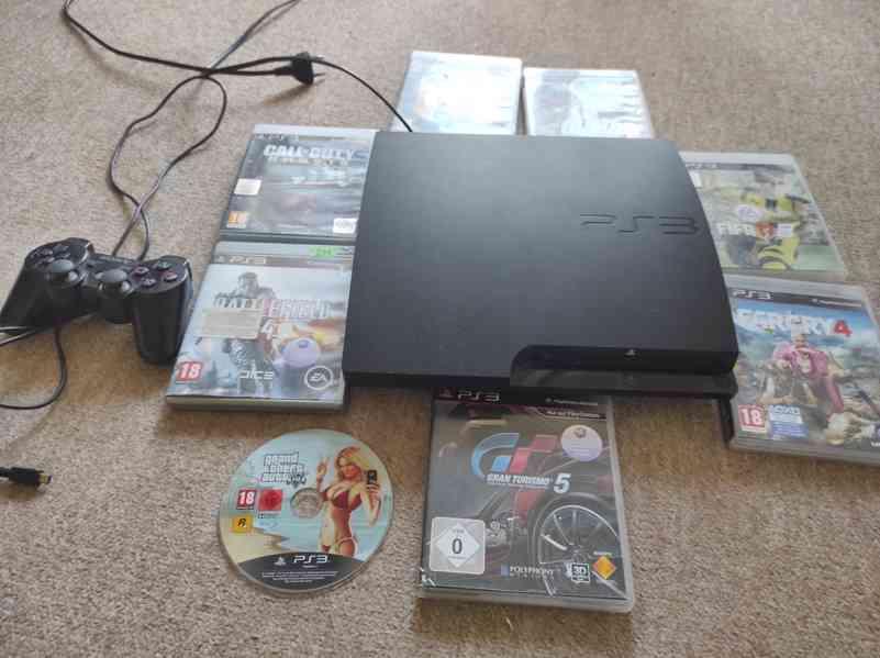 PlayStation 3 Slim 300gb - foto 2