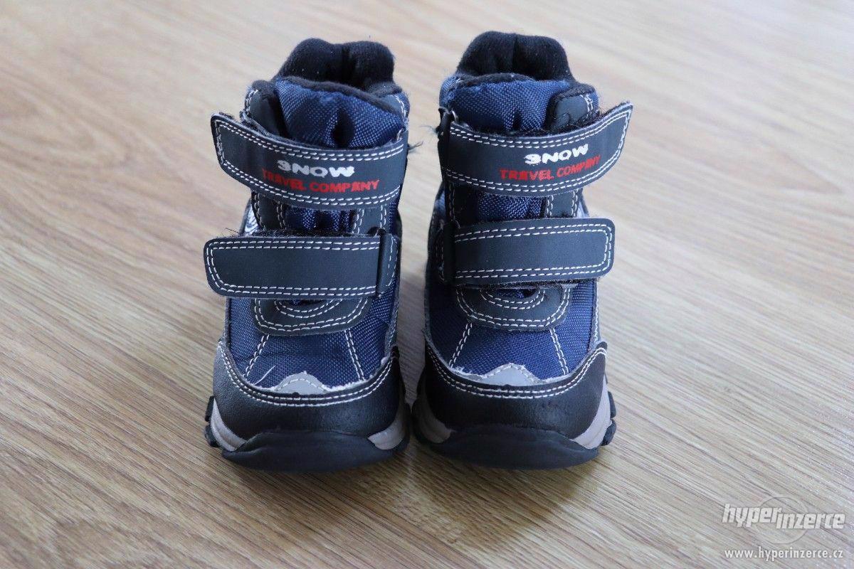 Zimní boty vel.21 - foto 1