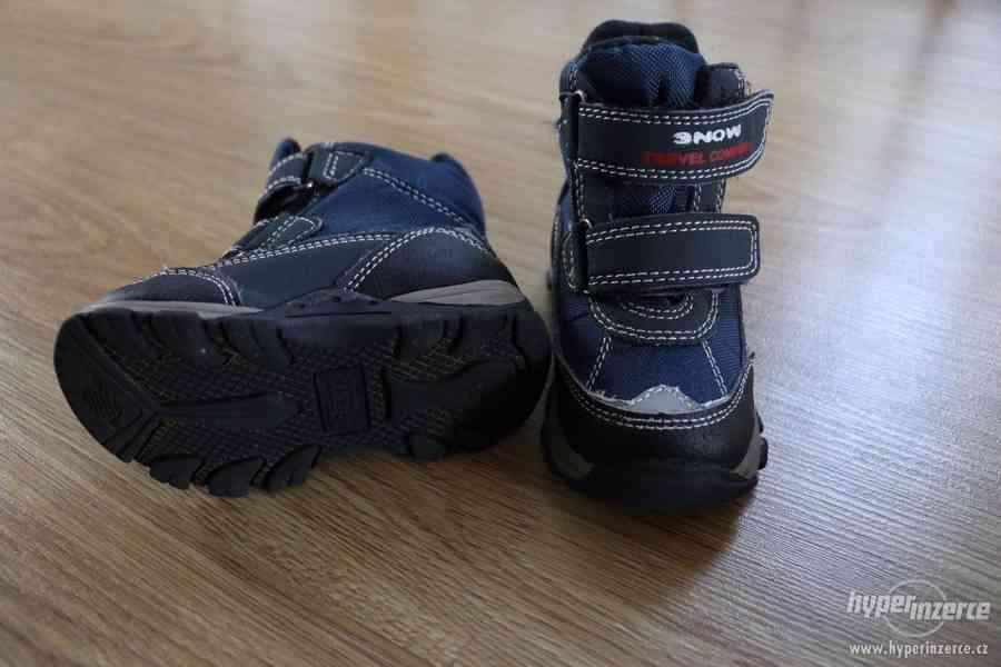 Zimní boty vel.21 - foto 3