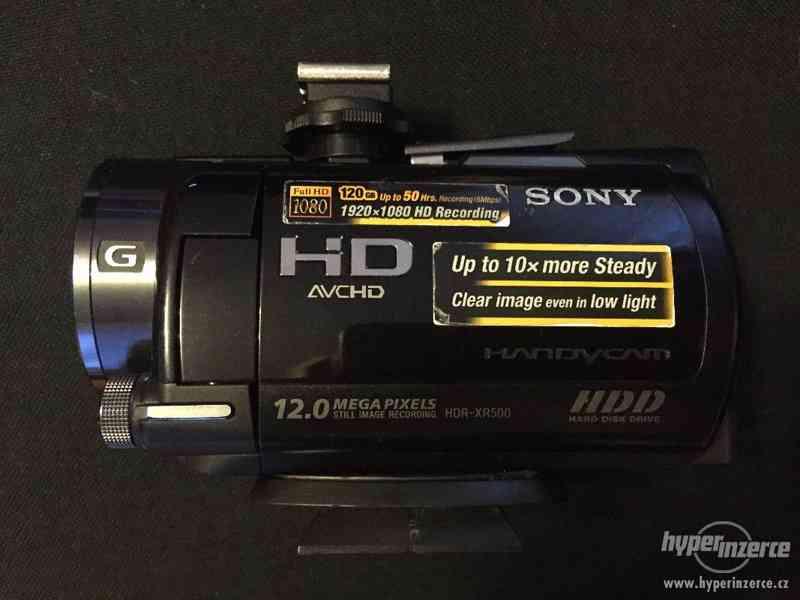 Videokamera Sony HDR-XR500 - foto 2