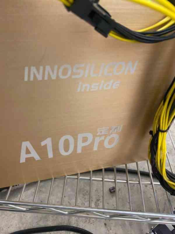 Innosilicon A10 Pro+ Vzácný 8g ETH 800mh/s ZDARMA PSU Ether  - foto 3