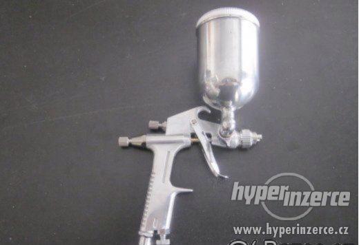 Stříkací pistole JOBI PROFI mini nerez nádobka HVLP