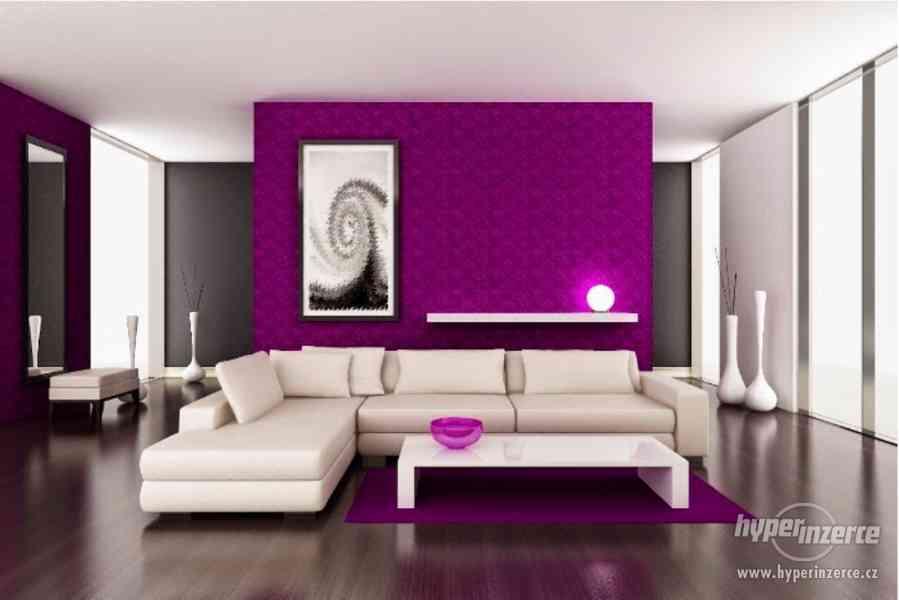Služby profesionálního malíře pokojů
