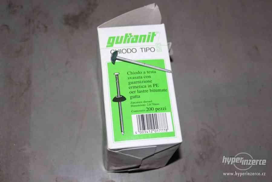 Kovové zapuštěné hřebíky Guttanit - foto 1