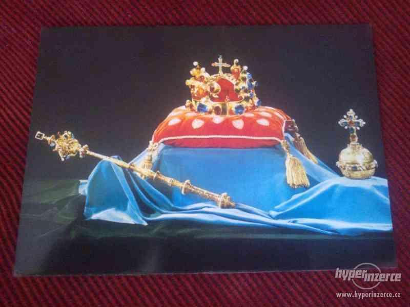 Retro pohlednice:  Korunovační klenoty
