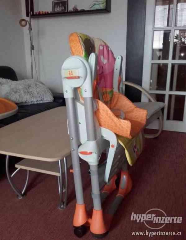 Dětská jídelní židle Chicco Polly