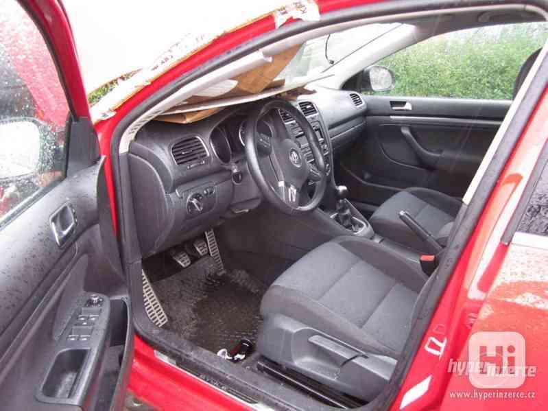 VW Golf 6 MK6 Variant STYLE 4Motion 1.6TDI díly - foto 9
