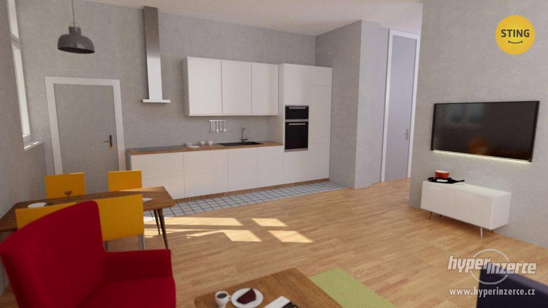 Pronájem  bytu 4+kk po rekonstrukci , 126 m2, Ostrava - Vítkovice