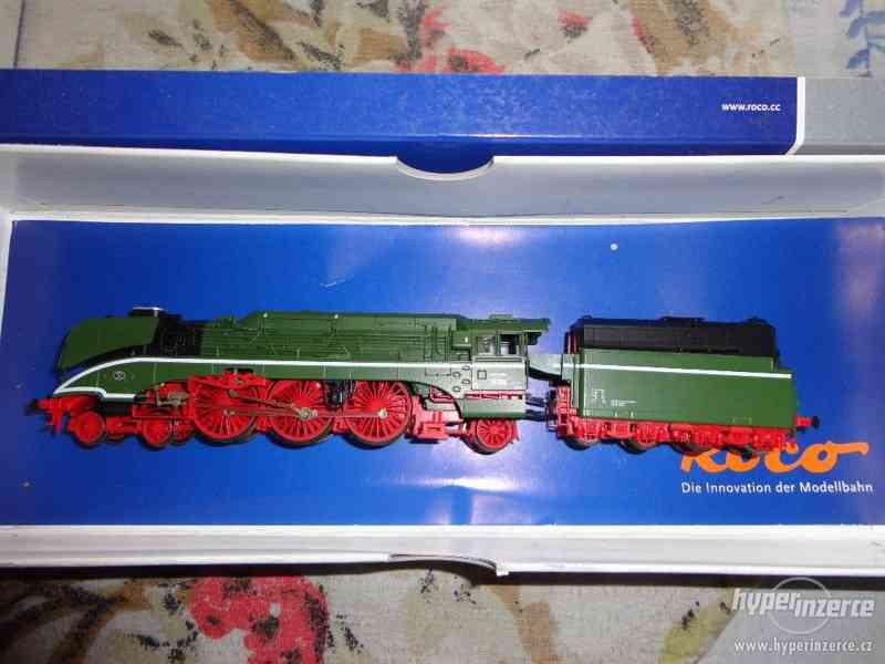 prodej nové parní lokomotivy roco TT