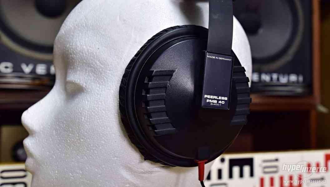 Peerless PMB 40 - kvalitní stereo sluchátka