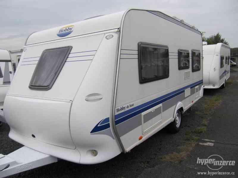 Prodám karavan Hobby 460 ufe,model 2008 + klima + před stan. - foto 3