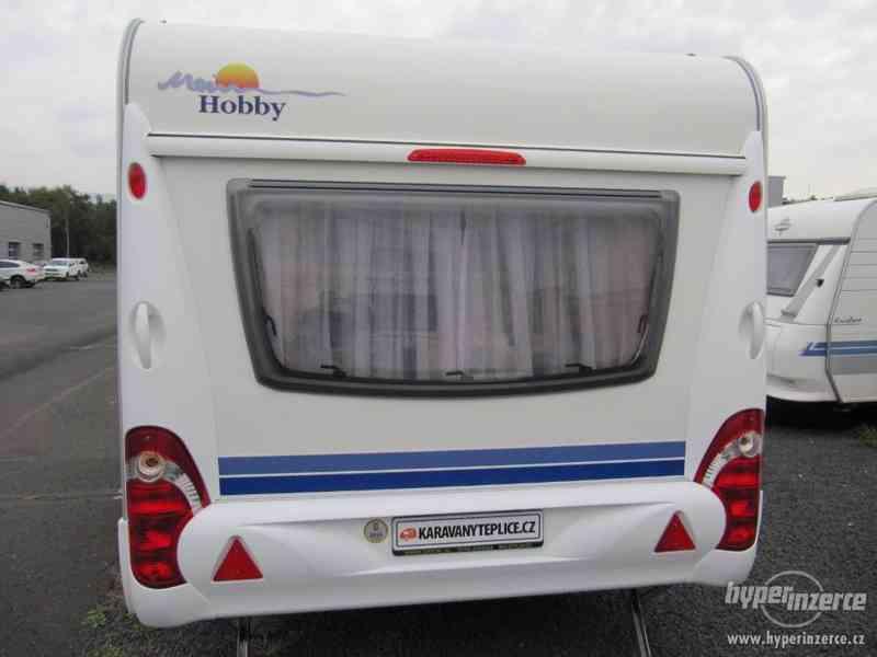 Prodám karavan Hobby 460 ufe,model 2008 + klima + před stan. - foto 4