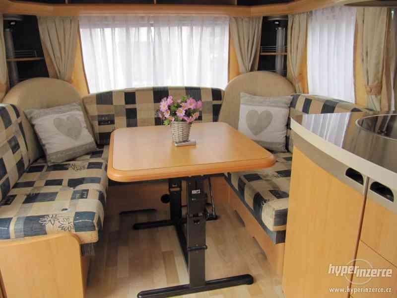 Prodám karavan Hobby 460 ufe,model 2008 + klima + před stan. - foto 7