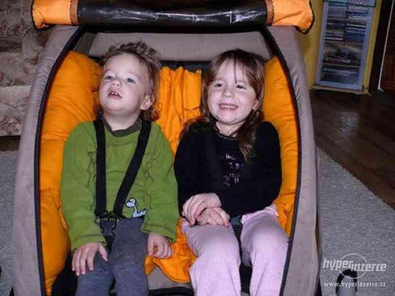Polštář do vozíku CROOZER Kid for 2