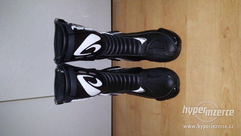 Motorkářská bunda, boty VŠE NOVÉ - foto 6