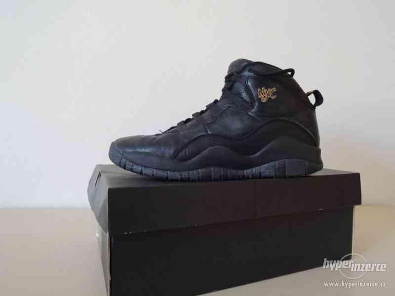 Basketbalové boty Air Jordan 10 Retro BG - foto 2