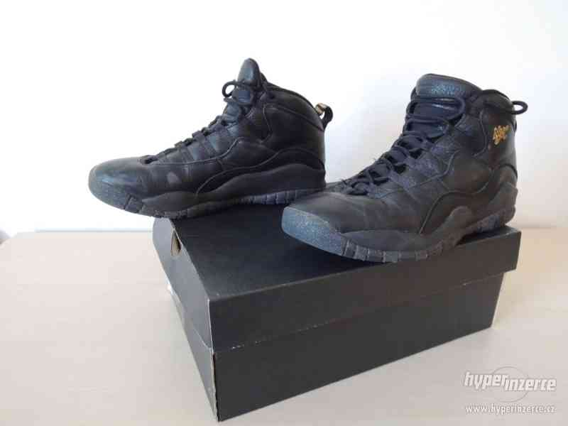 Basketbalové boty Air Jordan 10 Retro BG - foto 3