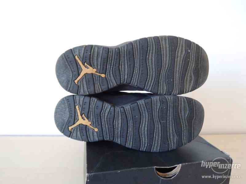 Basketbalové boty Air Jordan 10 Retro BG - foto 5
