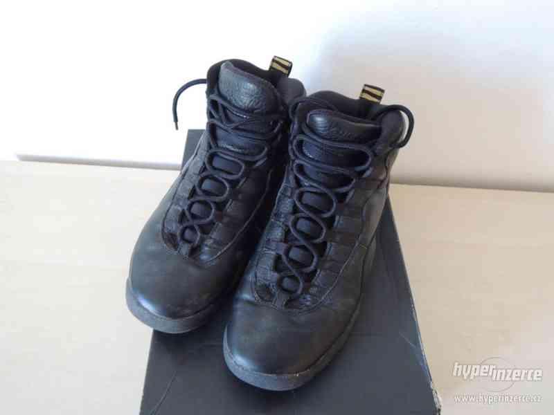 Basketbalové boty Air Jordan 10 Retro BG - foto 6