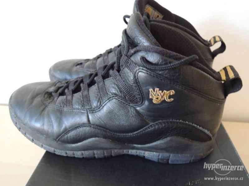 Basketbalové boty Air Jordan 10 Retro BG - foto 7