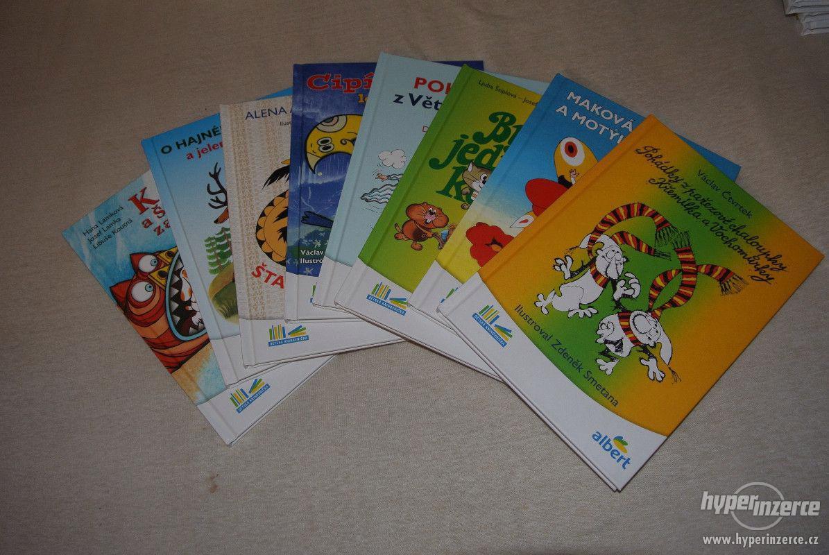 Knížky Albert-kompletní sada Prodám nové knížky Albert 8 ks - foto 1