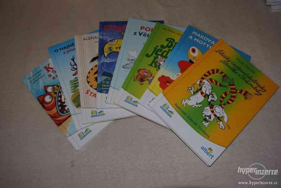 Knížky Albert-kompletní sada Prodám nové knížky Albert 8 ks