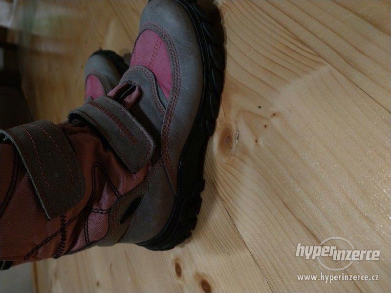 Zimní boty Fare s membránou vel.35