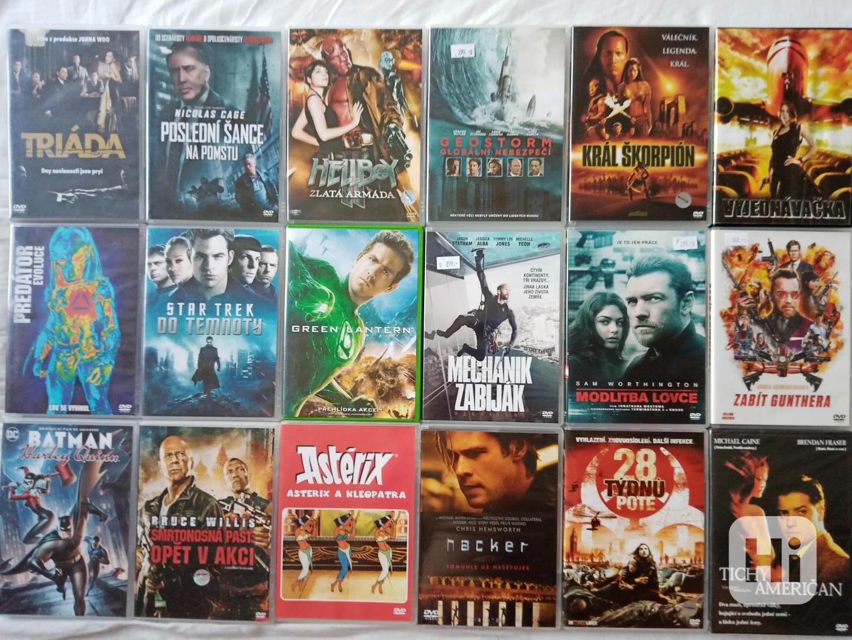 180orig.DVD vyznamných režisérů od 70 Kč - foto 1