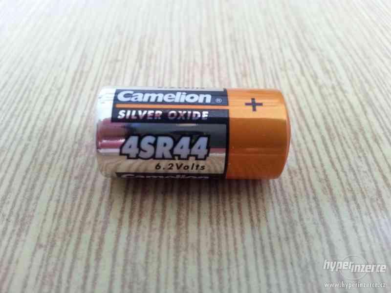 Camelion 4SR44 6,2V stříbro-oxidová baterie