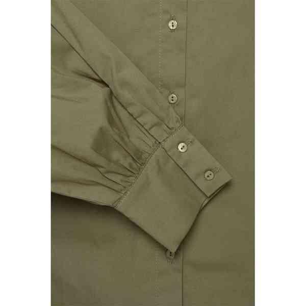 ICHI - Dámská olivová košile Grenna Velikost: 40 - foto 6