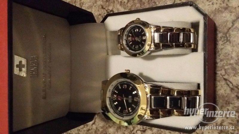 Nové pánské hodinky