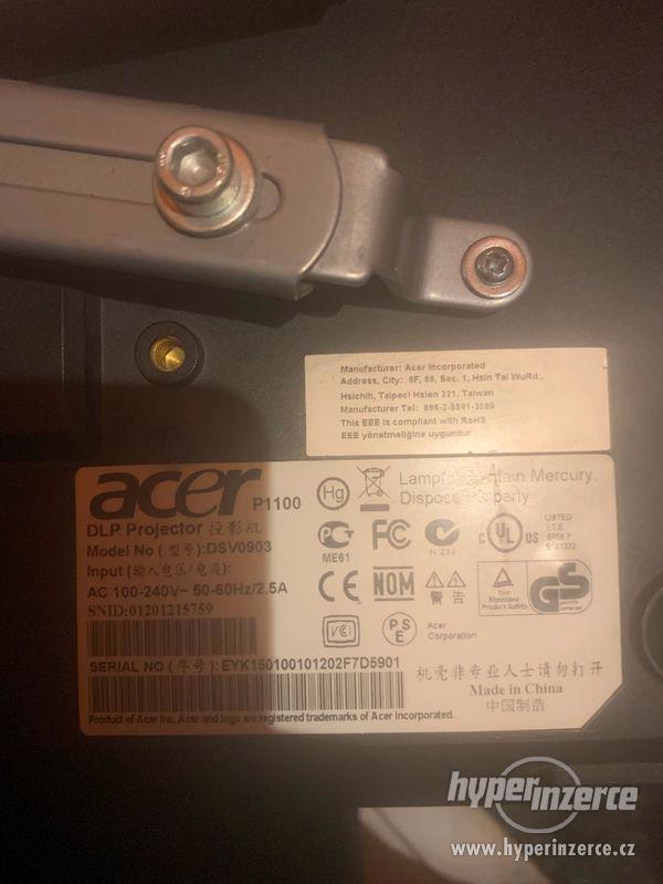 P1100 acer , Nobo platno, stropni drzak - foto 1