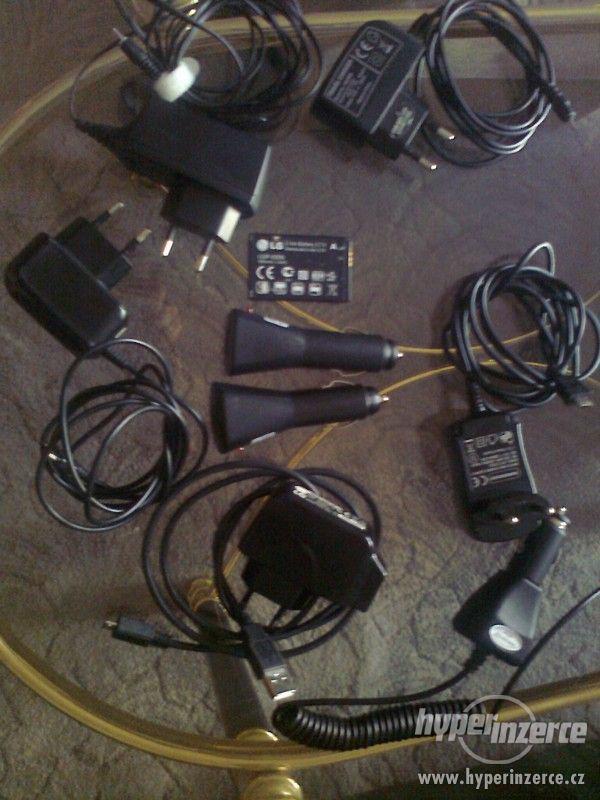 Prodám různé nabiječky na mobil - foto 2
