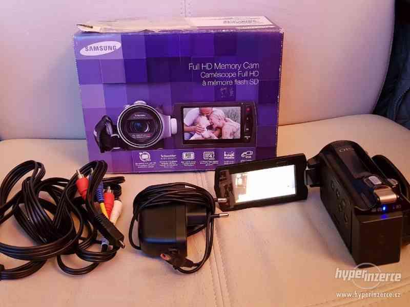 Full HD kamera Samsung HMX-H200 20xOZ - foto 1