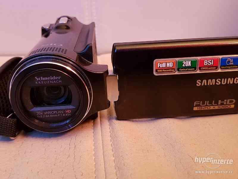 Full HD kamera Samsung HMX-H200 20xOZ - foto 2