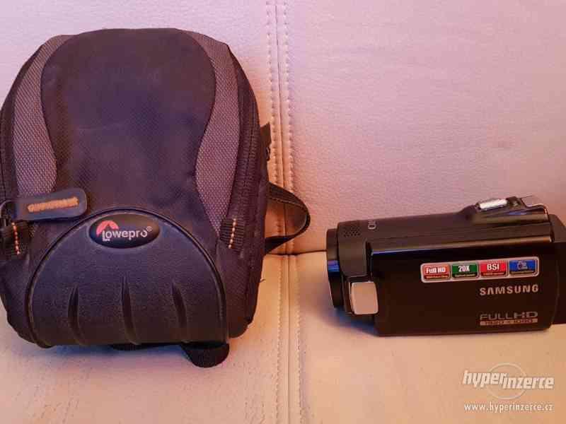 Full HD kamera Samsung HMX-H200 20xOZ - foto 4