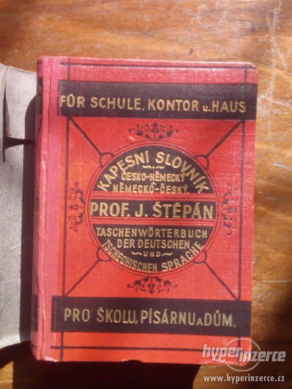 Nový kapesní slovník česko-německý a německo-český