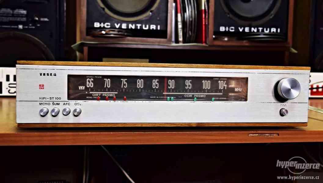 Tesla ST-100 (3601 A) stereo tuner - rádio